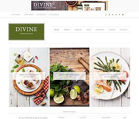 Divine Genesis Child Theme for WordPress by StudioPress