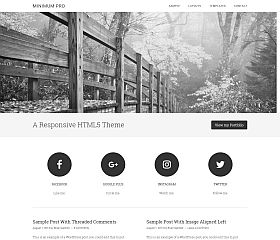 Minimum Pro Genesis Child Theme for WordPress by StudioPress