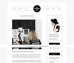Modern Studio Genesis Child Theme for WordPress by StudioPress