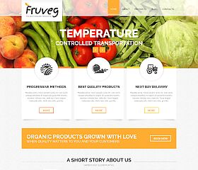 Best Organic Products Joomla Template by TemplateMonster