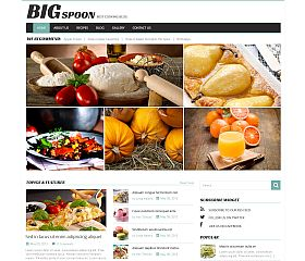Big Spoon WordPress Theme by TemplateMonster