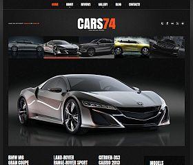 Car Dealer WordPress Theme by TemplateMonster