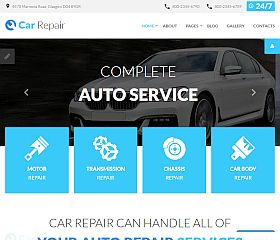 Car Repair Joomla Template by TemplateMonster