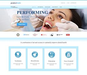 Dentistry WordPress Theme by TemplateMonster