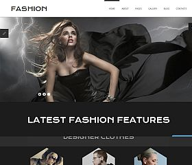 Online Fashion Joomla Template by TemplateMonster