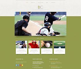 Pro Baseball Club WordPress Theme by TemplateMonster