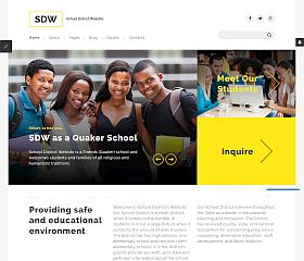 SDW Joomla Template by TemplateMonster