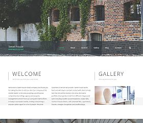 Sweet House Website Template by TemplateMonster