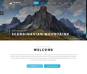 Travel Agency Joomla Template by TemplateMonster
