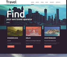 Travel Joomla Template by TemplateMonster
