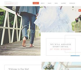 Wedding AG Joomla Template by TemplateMonster
