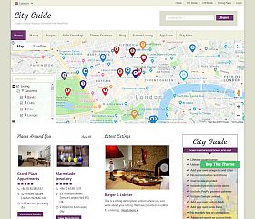City Guide WordPress Theme by Templatic