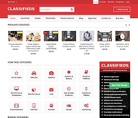 Classifieds WordPress Theme by Templatic