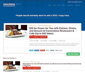 DailyDeal WordPress Theme by Templatic