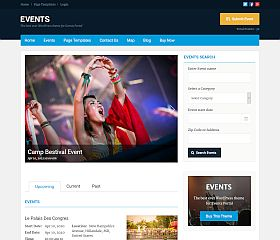 Events WordPress Theme by Templatic