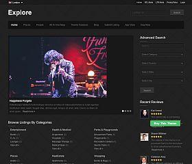 Explore WordPress Theme by Templatic