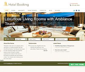 HotelBooking WordPress Theme by Templatic