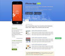 iPhone App WordPress Theme by Templatic