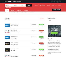 JobBoard WordPress Theme by Templatic