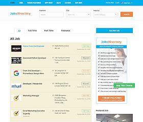 Jobs Directory WordPress Theme by Templatic