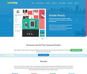 Landing Page WordPress Theme by Templatic