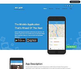 MyApp WordPress Theme by Templatic