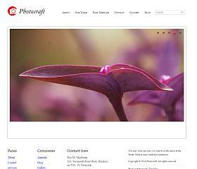 PhotoCraft WordPress Theme by Templatic