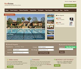 RealEstate WordPress Theme by Templatic