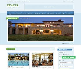 Realtr WordPress Theme by Templatic
