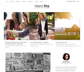 Smart Blog WordPress Theme by Templatic