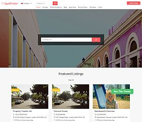 SpotFinder WordPress Theme by Templatic
