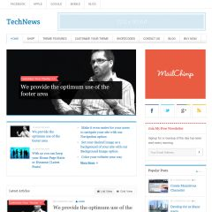TechNews WordPress Theme by Templatic