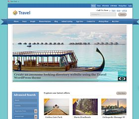 Travel Directory WordPress Theme by Templatic