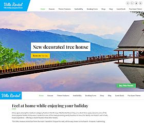 Villa Rental WordPress Theme by Templatic