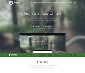 Advent WordPress Theme by TeslaThemes