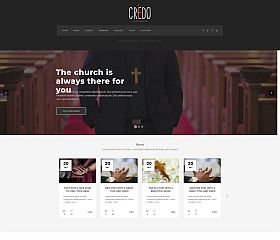 Credo WordPress Theme by TeslaThemes
