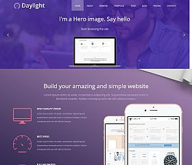 Daylight WordPress Theme by TeslaThemes