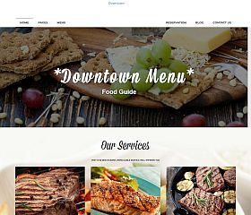Downtown WordPress Theme by TeslaThemes