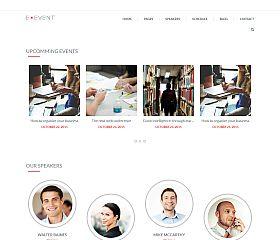 E-event WordPress Theme by TeslaThemes