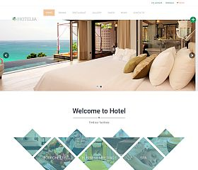 Hotelia WordPress Theme by TeslaThemes