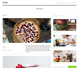 iCook WordPress Theme by TeslaThemes