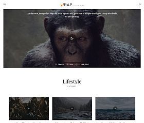 It Is a Wrap WordPress Theme by TeslaThemes