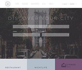 Locales WordPress Theme by TeslaThemes