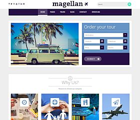 Magellan WordPress Theme by TeslaThemes