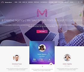 Materialism WordPress Theme by TeslaThemes