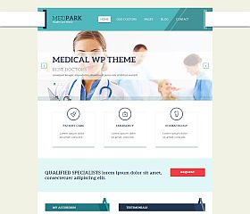 MedPark WordPress Theme by TeslaThemes
