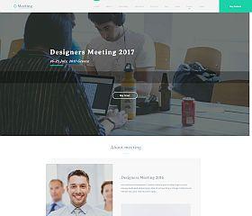 Meeting WordPress Theme by TeslaThemes