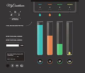 MyCountdown WordPress Theme by TeslaThemes
