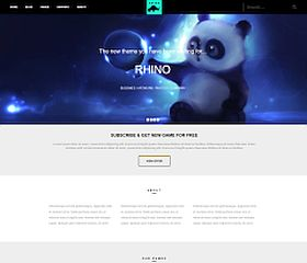 Rhino WordPress Theme by Tesla Themes