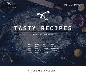 Salt & Pepper WordPress Theme by TeslaThemes